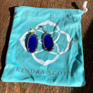 Kendra Scott Blue Dani Earrings